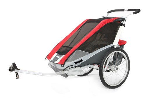 Thule_Chariot_Cougar1_Red_Cycling 10100533_4