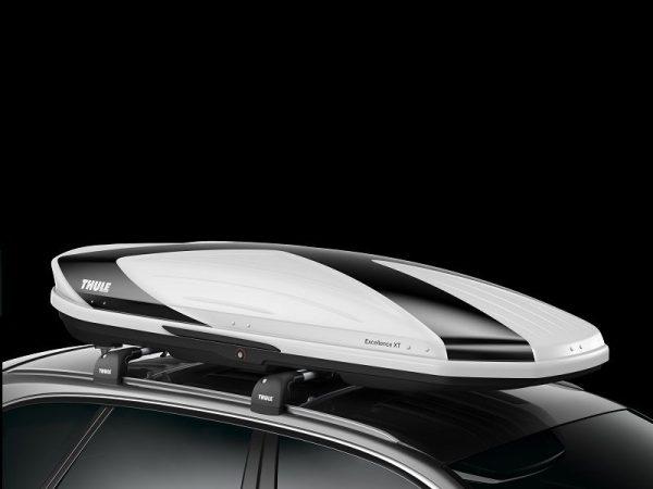 Thule Excellence 900 XT crno-bijela limited ed. krovna kutija 1