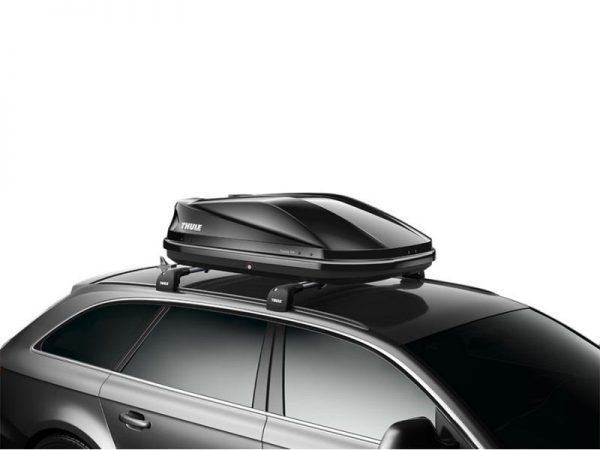 Thule Touring S (100) crna sjajna krovna kutija 1