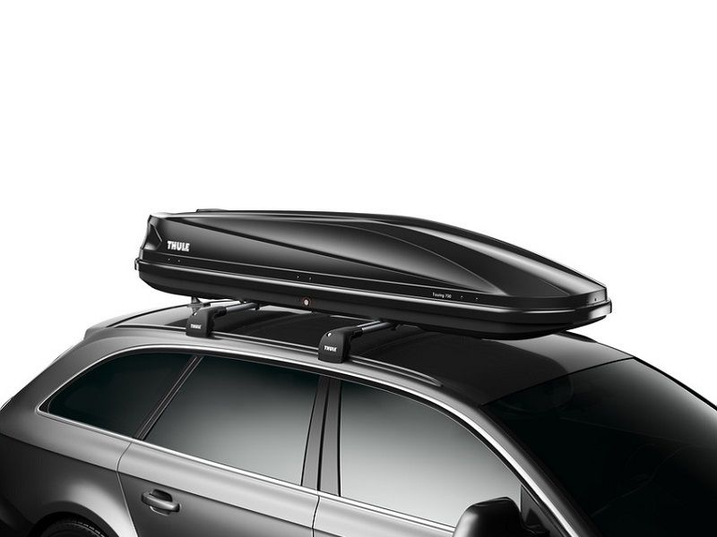 Thule Touring Alpine (700) crna sjajna krovna kutija