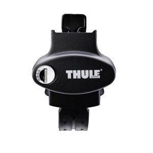 775 Thule krovni nosač sa čeličnom šipkom za tvorničke uzdužne šipke 4
