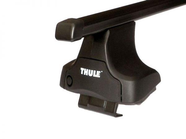 Komplet Thule krovni nosač sa čeličnom šipkom za normalan krov 754 1