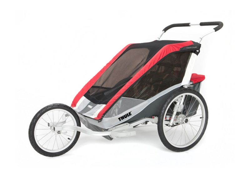 thule_chariot_cougar2_red_jog