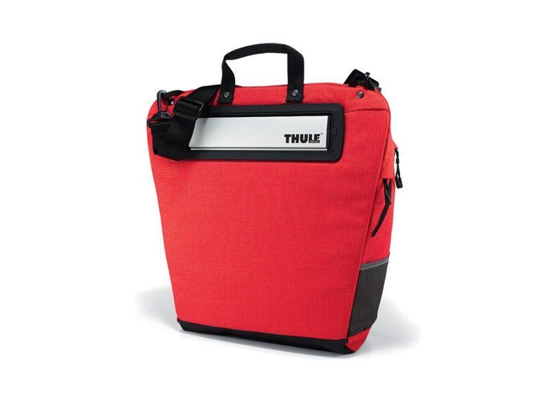 Torba za kupovinu za bicikl Thule Pack 'n Pedal crvena