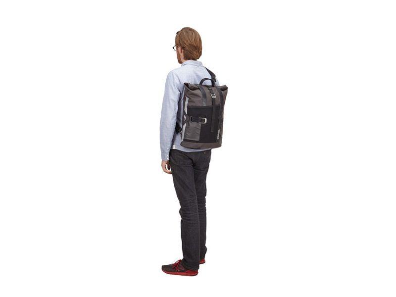 Bisaga za gradsku vožnju Thule Pack 'n Pedal crna 18l