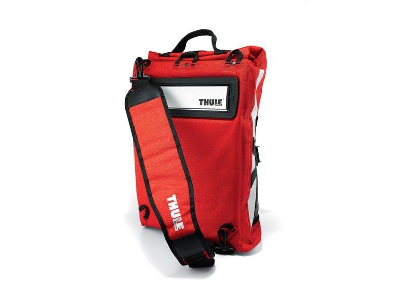 Bisaga za gradsku vožnju Thule Pack 'n Pedal crvena 18l
