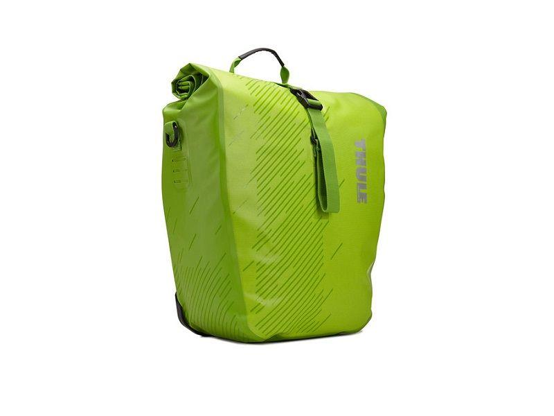 Bisage Shield Pannier zelena (par) Thule Pack 'n Pedal 14l ili 24l 24L
