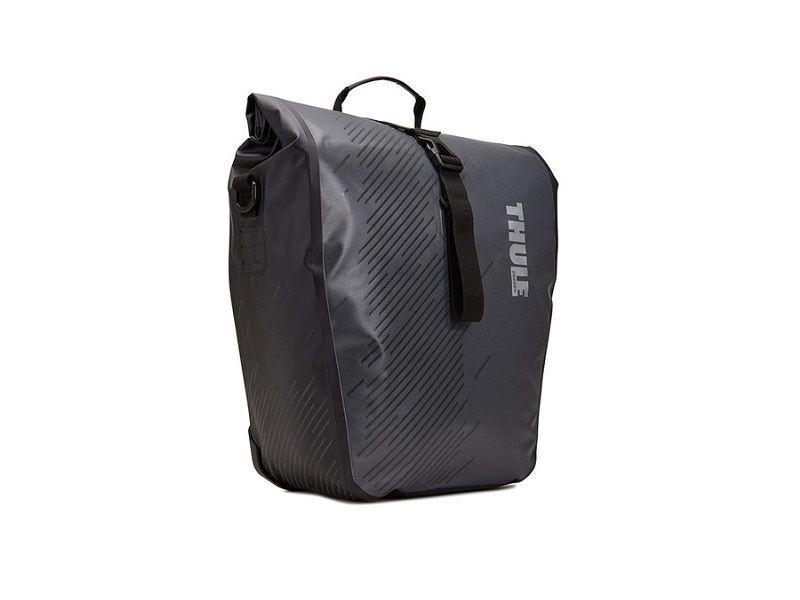 Bisage Shield Pannier crne (par) Thule Pack 'n Pedal 14l ili 24l 24L