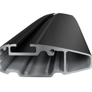 Komplet Thule krovni nosač sa crnom aluminijskom šipkom WingBar Edge za fiksne točke ili integrirane uzdužne 753/751 4