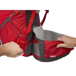 Ženski ruksak Thule Versant 70L crveni 6