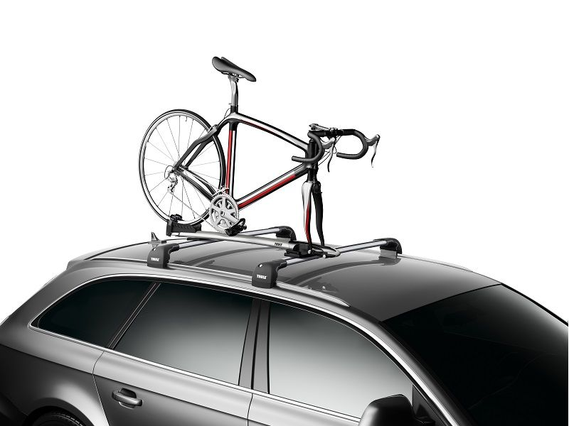 The most complete fork mount carrier for maximum bike protection.