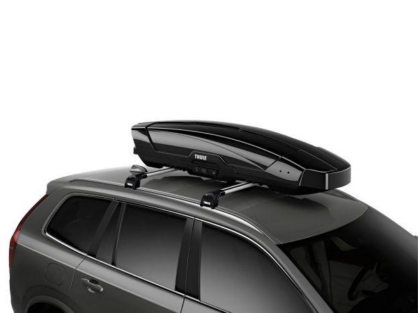 Thule Motion XT Sport (600) crna metalik krovna kutija 1