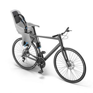 Dječja sjedalica stražnja na ramu bicikla Thule RideAlong Lite siva 4
