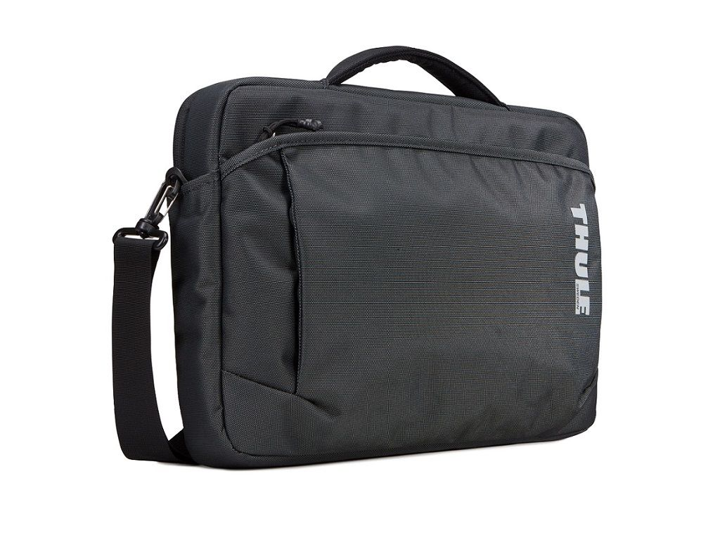 Durable attaché for a 13″ MacBook plus iPad, documents and accessories.