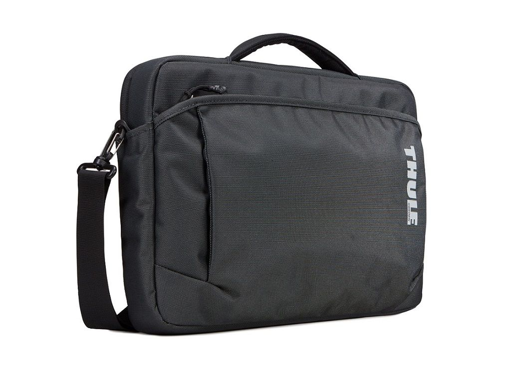 Durable attaché for a 15″ MacBook plus iPad, documents and accessories.