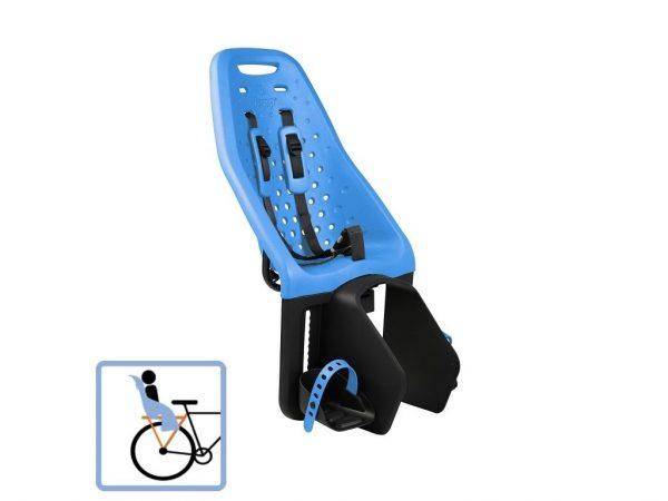 Dječja sjedalica stražnja za nosač Thule Yepp Maxi plava 1