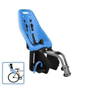 Dječja sjedalica stražnja na ramu Thule Yepp Maxi plava 2
