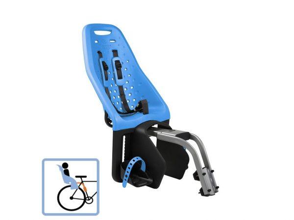 Dječja sjedalica stražnja na ramu Thule Yepp Maxi plava 1