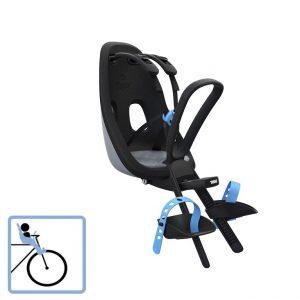 Dječja sjedalica prednja za upravljač Thule Yepp Nexxt Mini siva 2