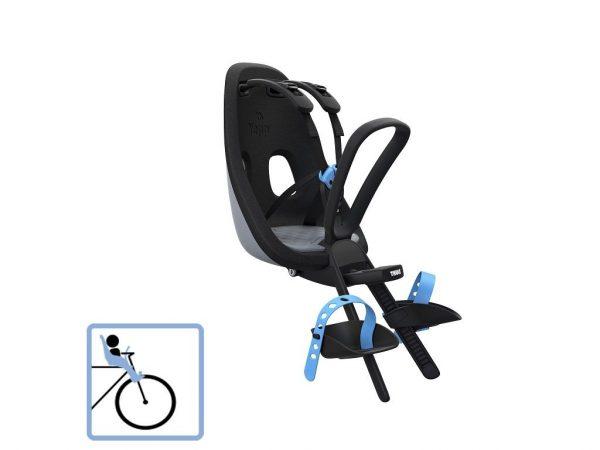 Dječja sjedalica prednja za upravljač Thule Yepp Nexxt Mini siva 1