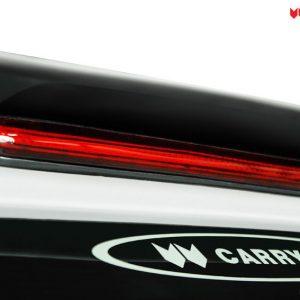 Carryboy hardtop bijeli za pickup Nissan Navara D40 king cab 2005-2015 s bočnim prozorima 26