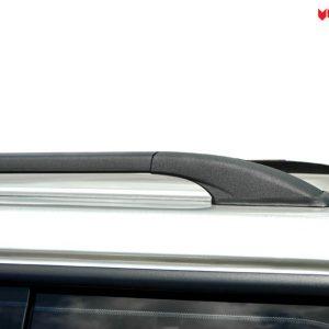 Carryboy hardtop bijeli za pickup Nissan Navara D40 king cab 2005-2015 s bočnim prozorima 17