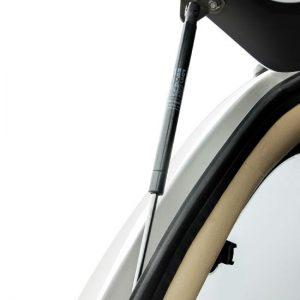 Carryboy hardtop bijeli za pickup Nissan Navara D40 king cab 2005-2015 s bočnim prozorima 13