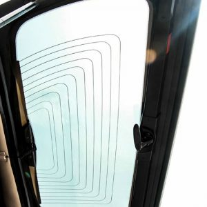 Carryboy hardtop bijeli za pickup Nissan Navara D40 king cab 2005-2015 s bočnim prozorima 9