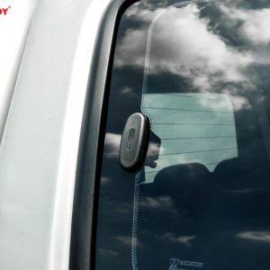 Carryboy hardtop bijeli za pickup Nissan Navara D40 king cab 2005-2015 s bočnim prozorima 7