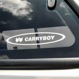 Carryboy hardtop bijeli za pickup Nissan Navara D40 king cab 2005-2015 s bočnim prozorima 6