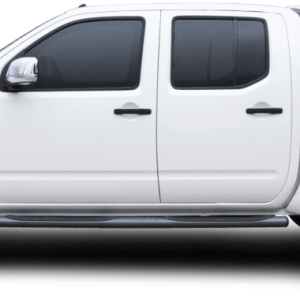 Carryboy hardtop bijeli za pickup Nissan Navara D40 king cab 2005-2015 s bočnim prozorima 24