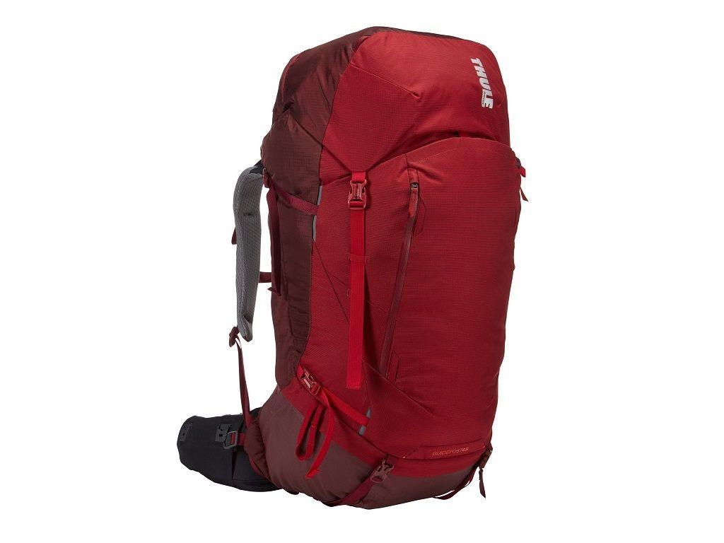 Ženski ruksak Thule Guidepost 65L crveni (planinarski)