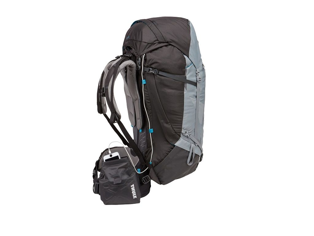 Ženski ruksak Thule Guidepost 65L sivi (planinarski)