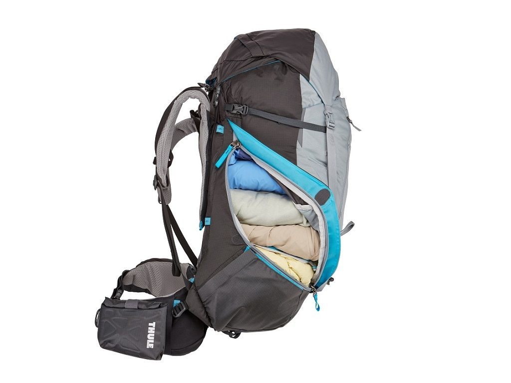 Ženski ruksak Thule Guidepost 75L crveni (planinarski)