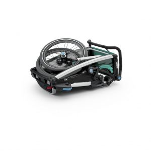 Thule Chariot Lite zeleno/crna dječja kolica za jedno dijete 10