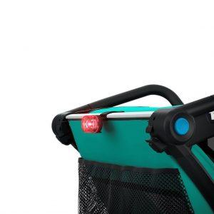 Thule Chariot Lite zeleno/crna dječja kolica za jedno dijete 11