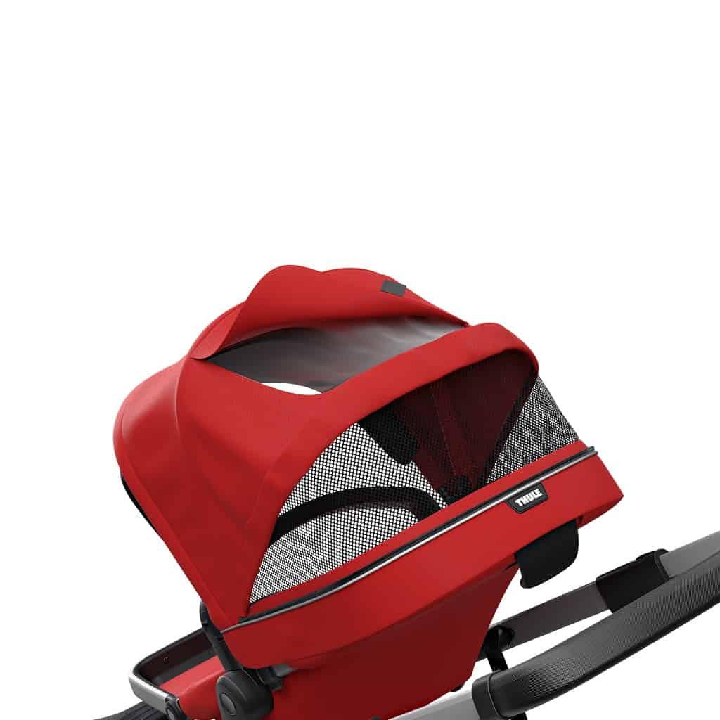 Thule Sleek crvena dječja kolica