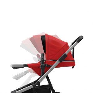 Thule Sleek crvena dječja kolica 8