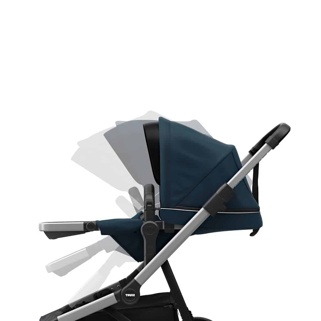 Thule Sleek plava dječja kolica