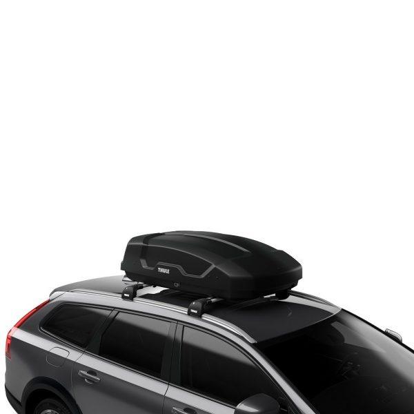 Thule Force XT S (100) crna mat krovna kutija 1