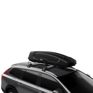 Thule Force XT Sport (600) crna mat krovna kutija 2