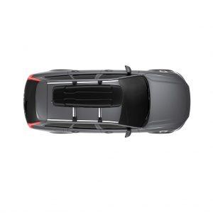Thule Force XT Sport (600) crna mat krovna kutija 7