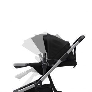Komplet Thule Sleek dječja kolica + Thule Sleek košara crna 17