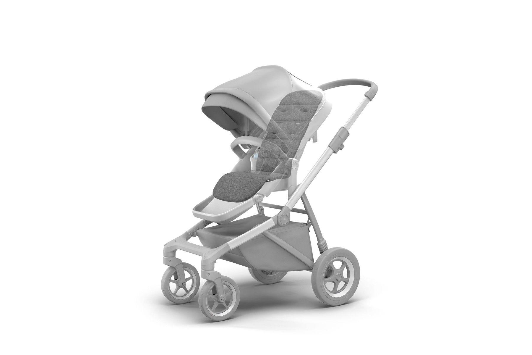 Thule Seat Liner podloga za dječja kolica siva za Thule Spring/Sleek/Urban Glide i Glide 2