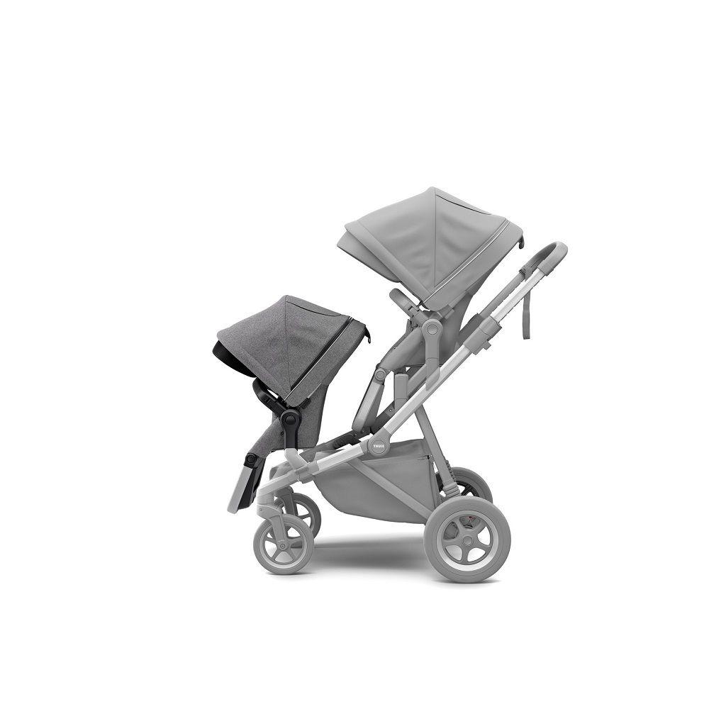 Thule Sleek Sibling sjedalica za dječja kolica siva