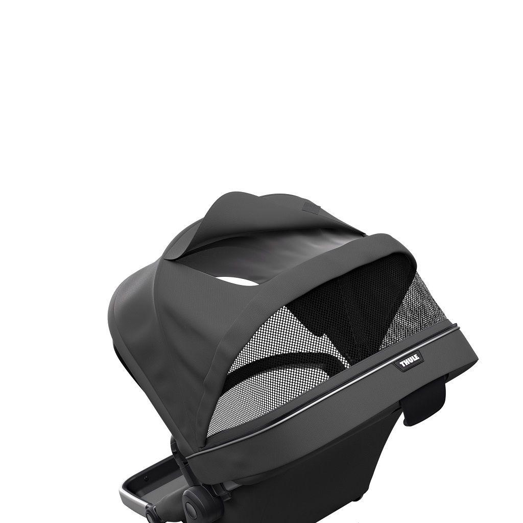 Thule Sleek Sibling sjedalica za dječja kolica tamno siva