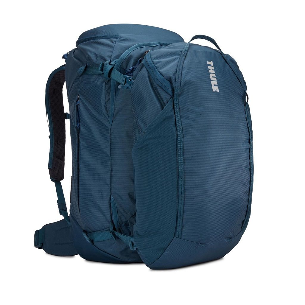 Putni ruksak ženski 2u1 Thule Landmark 60L plavi