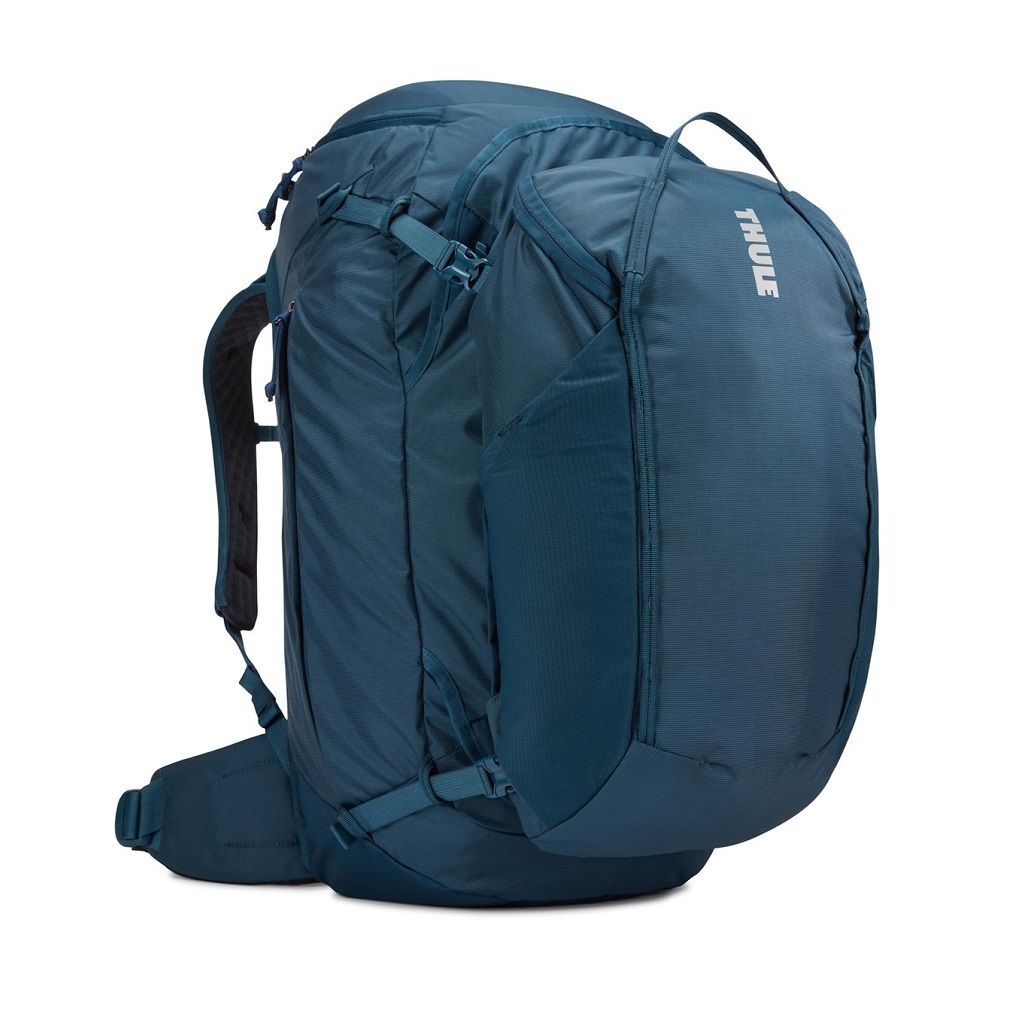 Putni ruksak ženski 2u1 Thule Landmark 70L plavi