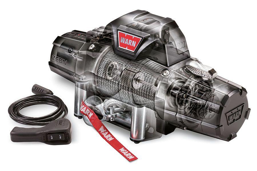 Premium vitlo Warn Zeon 10CE, 12V, 4.536kg sa sajlom, vodilicom i žičnim daljinskim