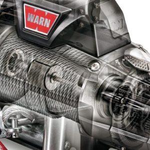 Premium vitlo Warn Zeon 10CE, 12V, 4.536kg sa sajlom, vodilicom i žičnim daljinskim 5